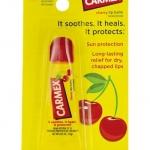 Carmex Cherry Lip Balm SunScreen 10g. หลอดบีบ