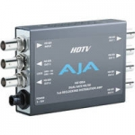 AJA HD10DA 1x6 HD/SD-SDI Re-Clocking Distribution Amp with DWP