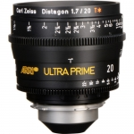 ARRI Ultra Prime 20mm T1.9 Lens PL Feet