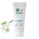 พร้อมส่ง Etude House AC Clean Up Daily Cleansing Foam 150ml. โฟมล้างหน้าสูตรเข้มข้น อ่อนโยนต่อผิว ทำความสะอาดได้อย่างล้ำลึกหมดจด ช่วยลดสิว ลดแบคทีเรีย