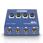 LD Sytems HPA 4 - a compact and powerful headphone amplifier