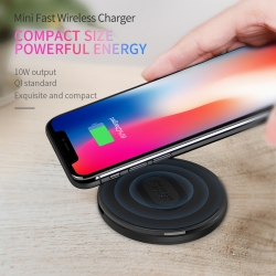 ที่ชาร์จไร้สาย NILLKIN Mini Fast Wireless Charger (Fast Charge Edition)