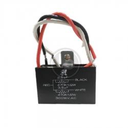 คาปาซิเตอร์พัดลม 2.5+3.5 uF 300V