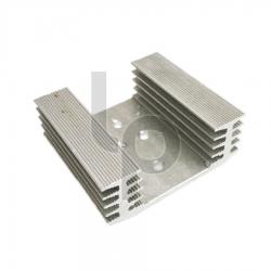 ฮีทซิงค์ระบายความร้อน เจาะรู ขนาด 6x5.5 cm.