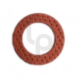 แหวนไฟเบอร์รองบู๊ช สีแดง แกน 8 มิล แพ๊ค 20 ตัว
