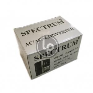 อุปกรณ์แปลงไฟ 220v-110v 50w ยี่ห้อ SPECTRUM