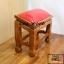 โต๊ะกราบ ไม้สักทองไซส์เล็ก [สีแดง] thumbnail 8