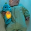 ของเล่นเด็กอ่อน ตุ๊กตาม้าน้ำสีฟ้า Fisher-Price thumbnail 5