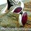 ▽ทับทิมอินเดีย Indian Ruby- แหวนเงินแท้ 925 (แหวนเบอร์ : 59 , 4.7g) thumbnail 3