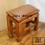 โต๊ะกราบ ไม้สักทองไซส์เล็ก [สีน้ำตาล] thumbnail 5