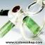 ทัวร์มาลีน Green Tourmaline โกเมน Garnet - แหวนเงินแท้ 925 (แหวนเบอร์ : 52) thumbnail 5