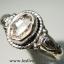 เพชรเฮอร์คิวเมอร์ ( HERKIMER DIAMOND ) แหวนเงินแท้ 925(แหวนเบอร์ : 62) 2.8g thumbnail 2