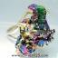 TITANIUM AURA QUARTZ -แหวนเงินแท้ 925 (แหวนเบอร์ : 58) 8.4g thumbnail 6