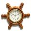 นาฬิกาพวงมาลัยเรือไม้สักทอง 8 นิ้ว thumbnail 3