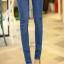 เลคกิ้งคนท้อง P38 สี light blue jean (ผ้ายีนส์) ราคาส่ง 385 บาท thumbnail 4