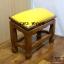 โต๊ะกราบ ไม้สักทองไซส์ใหญ่ [สีเหลือง] thumbnail 2