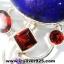 ▽ลาพิส ลาซูลี่ (Lapis Lazuli) โกเมน & อเมทิสต์ จี้เงินแท้ 925 (8.6g) thumbnail 2