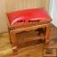 โต๊ะกราบ ไม้สักทองไซส์เล็ก [สีแดง] thumbnail 2