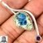 ▽จี้เงินแท้ 925 - K2 Blue (Azurite In Quartz) & Amethyst thumbnail 1