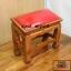 โต๊ะกราบ ไม้สักทองไซส์เล็ก [สีแดง] thumbnail 9