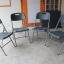 เก้าอี้เดี่ยวพับได้ มีพนักพิง ลายไม้ KOMMET HDPE รุ่น HDC-001M thumbnail 4