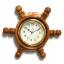 นาฬิกาพวงมาลัยเรือไม้สักทอง 8 นิ้ว thumbnail 2