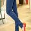 เลคกิ้งคนท้อง P38 สี light blue jean (ผ้ายีนส์) ราคาส่ง 385 บาท thumbnail 3