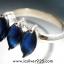 ▽ไอโอไลท์ (Iolite) แหวนเงินแท้ 925 (แหวนเบอร์ : 52) thumbnail 4