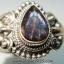 แอมโมไลต์จากแคนาดา Canadian Ammolite แหวนเงินแท้ 925 (แหวนเบอร์ : 55) thumbnail 2