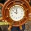 นาฬิกาพวงมาลัยเรือไม้สักทอง 18 นิ้ว thumbnail 7