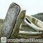 ▽หินดาวตกกีเบียน GIBEON METEORITE-แหวนเงินแท้ 925 (แหวนเบอร์ : 52, 4.5g) thumbnail 6
