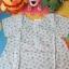 เสื้อเด็ก D4 (3-4 ขวบ) ลายดอกไม้สีเขียว thumbnail 1