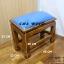 โต๊ะกราบ ไม้สักทองไซส์ใหญ่ [สีน้ำเงิน] thumbnail 1