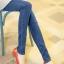 เลคกิ้งคนท้อง P38 สี light blue jean (ผ้ายีนส์) ราคาส่ง 385 บาท thumbnail 2