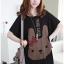 ชุดคลุมท้อง A15A เสื้อยืดคลุมท้อง (กระต่ายสีดำ) ราคาส่ง 200 บาท thumbnail 1