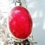 ▽ทับทิม Indian Ruby- แหวนเงินแท้ 925 (แหวนเบอร์ : 52 ,6.7g) thumbnail 4