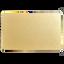 บัตรพลาสติกเปล่า สีเมทัลลิคเงิน พื้นประกายทอง thumbnail 2