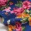 เลคกิ้งคนท้อง P7 สี blue flower สีน้ำเงินลายดอก ขายาว มีผ้าพยุงครรภ์และสายปรับเอว ราคาส่ง 390 บาท thumbnail 12