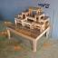 โต๊ะหมู่บูชา หมู่ 9 หน้า 5 ฐานพิเศษ สีเสี้ยนขาว thumbnail 1