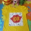 เสื้อเด็ก D11 (3-4 ขวบ) สีเหลือง thumbnail 1