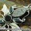 ▽หินดาวตกกีเบียน GIBEON METEORITE - BLACK ONYX - SMOKY TOPAZ-จี้เงินแท้ 925 (5.2g) thumbnail 4