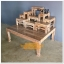 โต๊ะหมู่บูชา หมู่ 9 หน้า 5 ฐานพิเศษ สีเสี้ยนขาว thumbnail 10