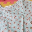 เสื้อเด็ก D4 (3-4 ขวบ) ลายดอกไม้สีเขียว thumbnail 2