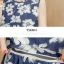 ชุดคลุมท้อง A70 เดรสแขนกุด (ลายดอกไม้) ราคาส่ง 280 บาท thumbnail 9