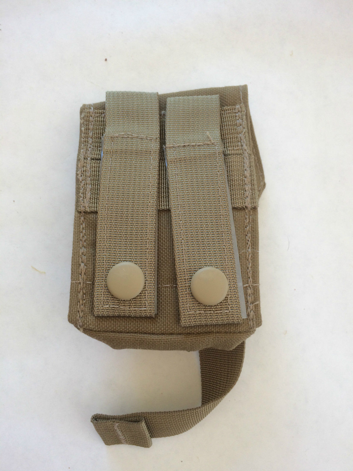 Coyote Brown London Bridge LBT-9008A Single Frag Grenade MOLLE Pouch