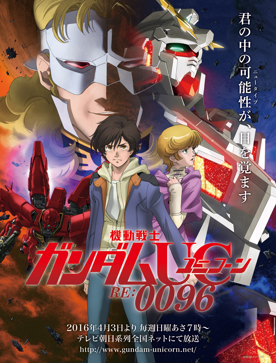 Mobile Suit Gundam : UNICORN Poster
