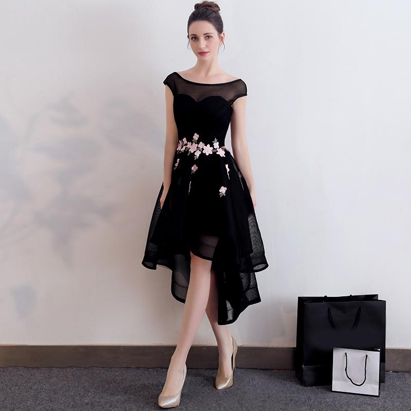 ชุดราตรีชุดออกงานสีดำสวยหรูราคาถูก