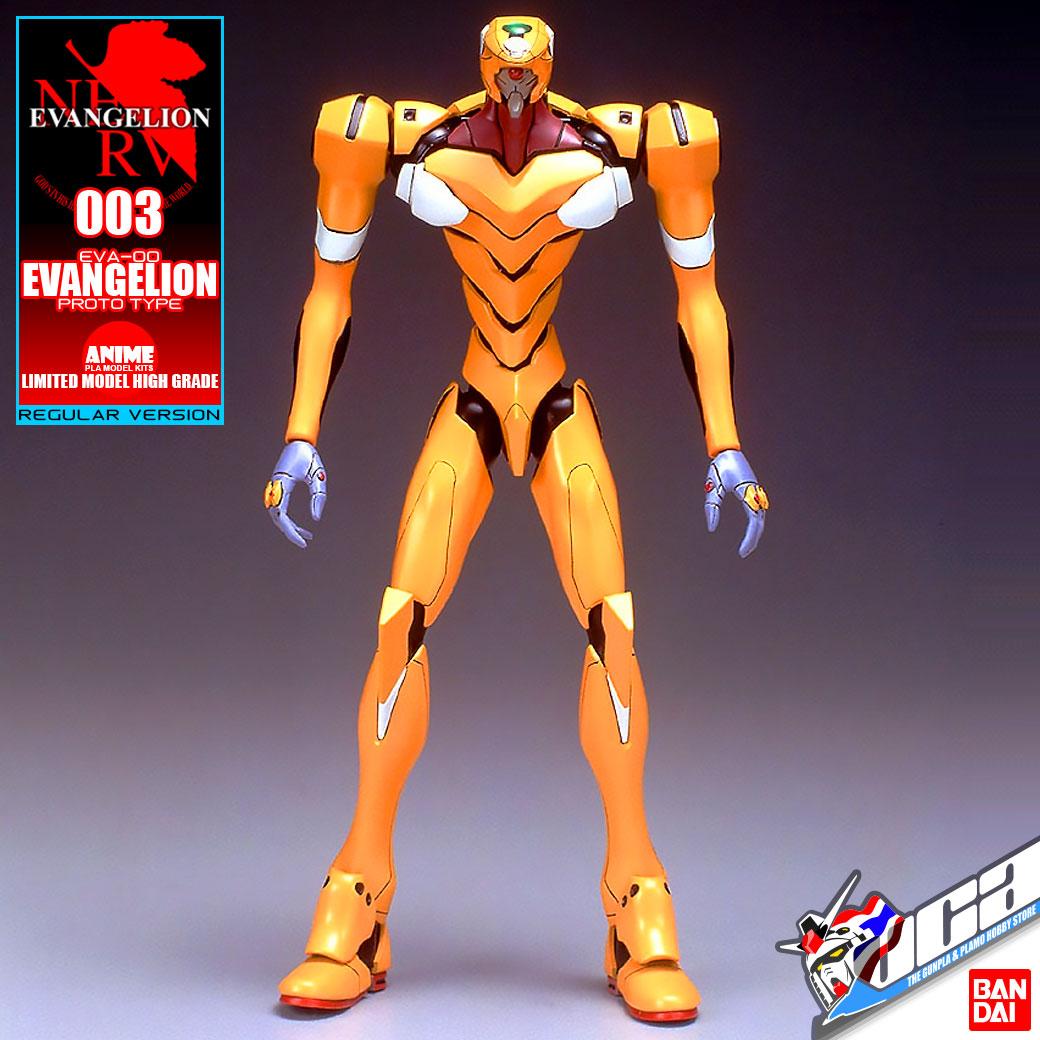 Gashapon Robot EVA-00 Type F
