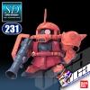 SD BB231 MS-06S ZAKU II