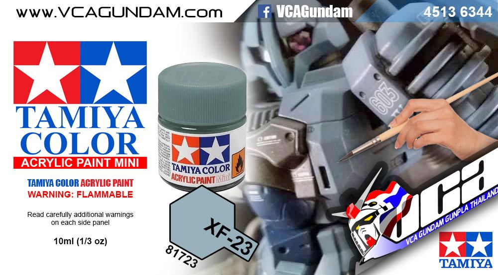 TAMIYA 81723 ACRYLIC XF-23 LIGHT BLUE